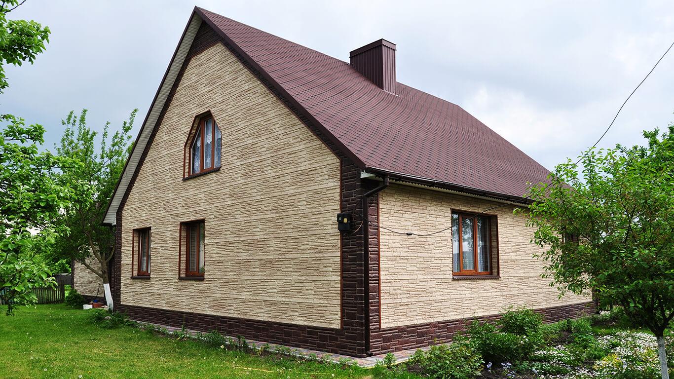 дом дача внешняя отделка фото представленные выставочном зале